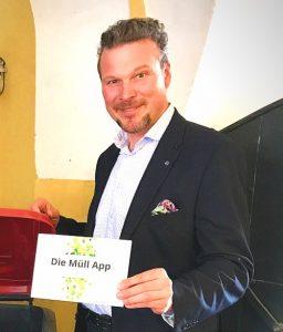 Klagenfurts Vizebürgermeister Wolfgang Germ im Müll App Interview