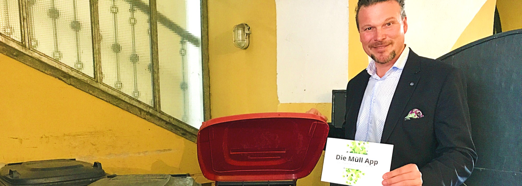 Interview mit Vizebürgermeister Wolfgang Germ zur Müll App